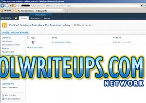 Coolwriteups.com - SharePoint OneNote Notebook