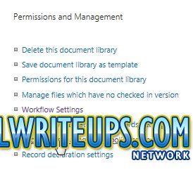 CoolWriteups.Com - SharePoint 2013 Information Management Policy